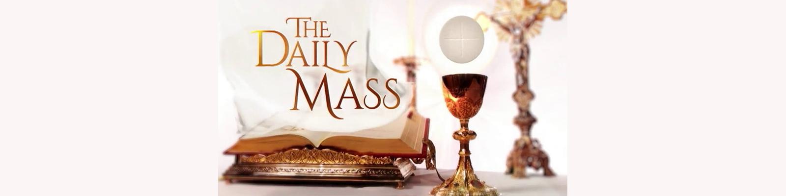 Daily Mass Schedule 1/14-1/19